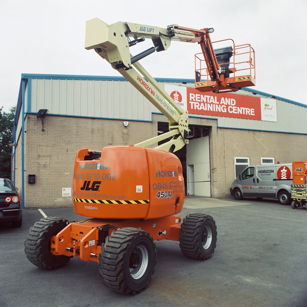 14m Diesel Boom Lift - JLG 450AJ - Lightweight Version