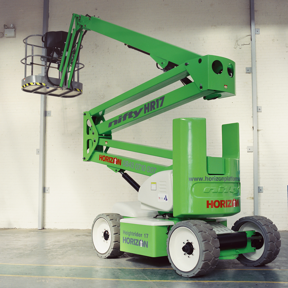 15m Bi-Fuel Boom Lift - Niftylift HR17N