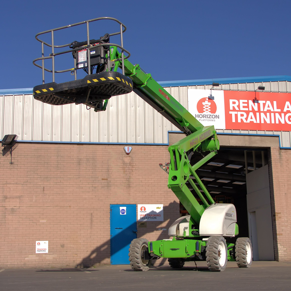 19m Bi-Fuel Boom Lift - Niftylift HR21 4x4