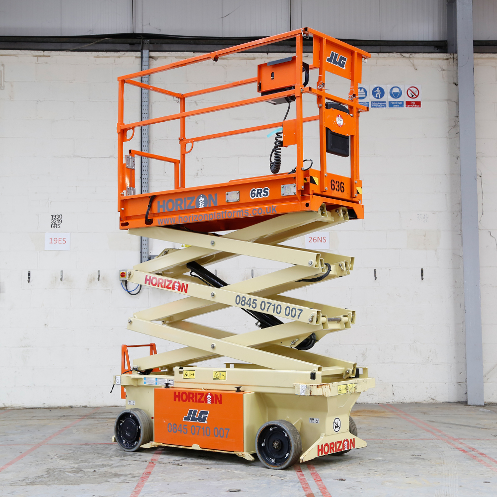 6m Battery Scissor Lift - JLG 6RS