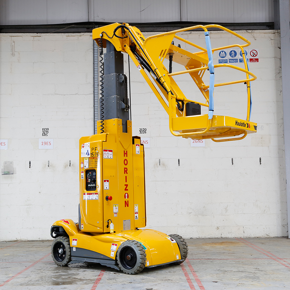 8m Battery Boom Lift - Haulotte Star10 - Lightweight Version