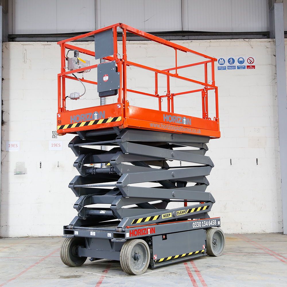 8m Battery Scissor Lift - Skyjack SJ4626