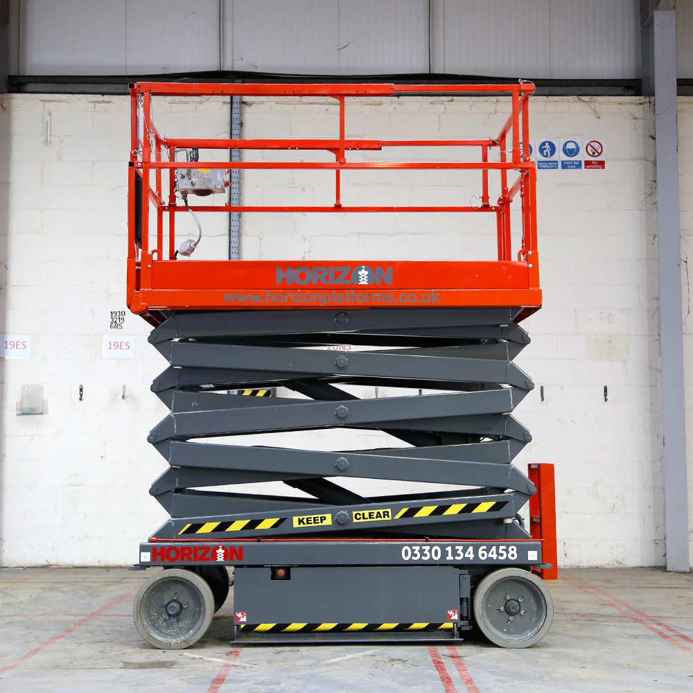 how to start a skyjack scissor lift