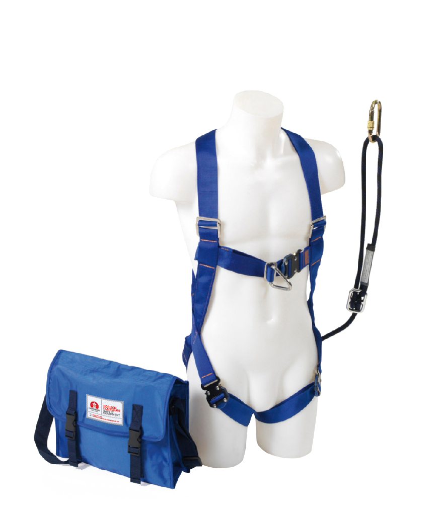 2 Point Safety Harness, Adjustable Lanyard & Bag - IPAF Approved