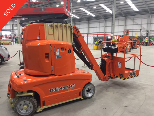 10m Battery Boom Lift - JLG Toucan 1210