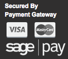 Secured by Payment Gateway - Sage Pay